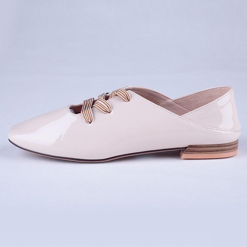 金苑PU女鞋学生装单鞋S911022