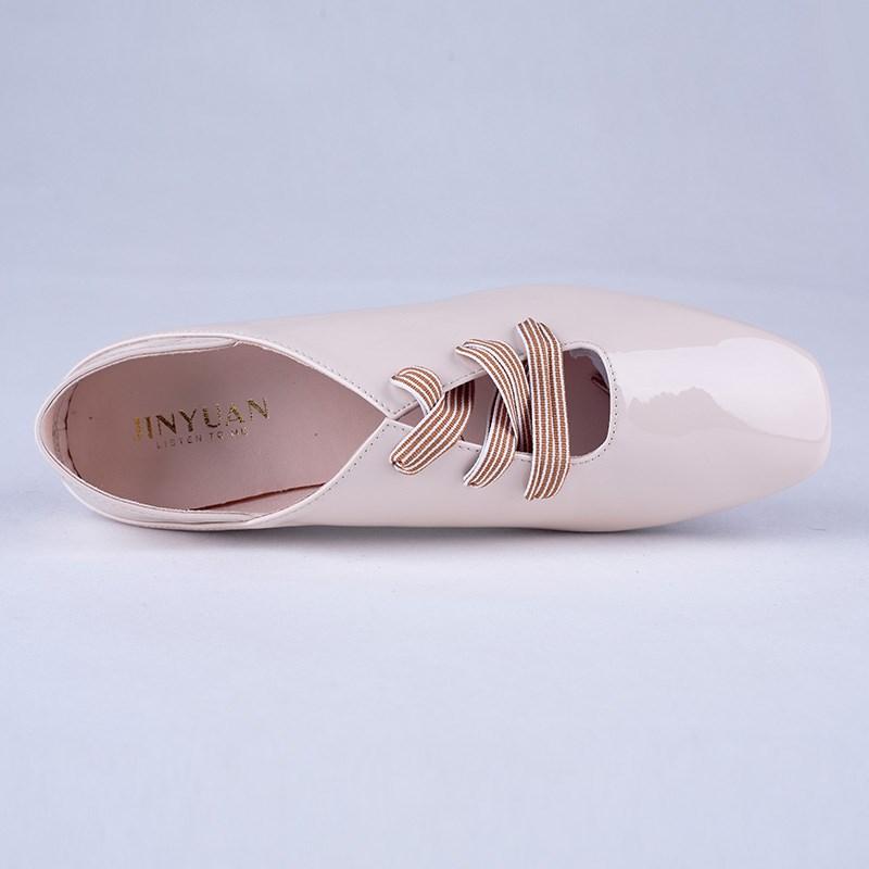 金苑PU女鞋学生装单鞋S911023