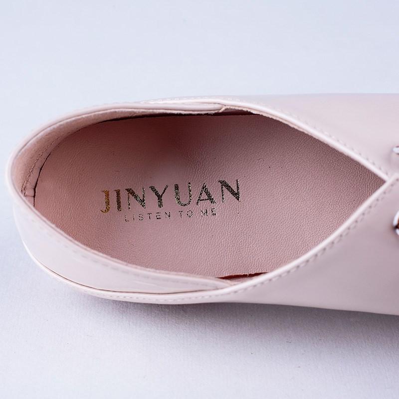 金苑PU女鞋学生装单鞋S911025