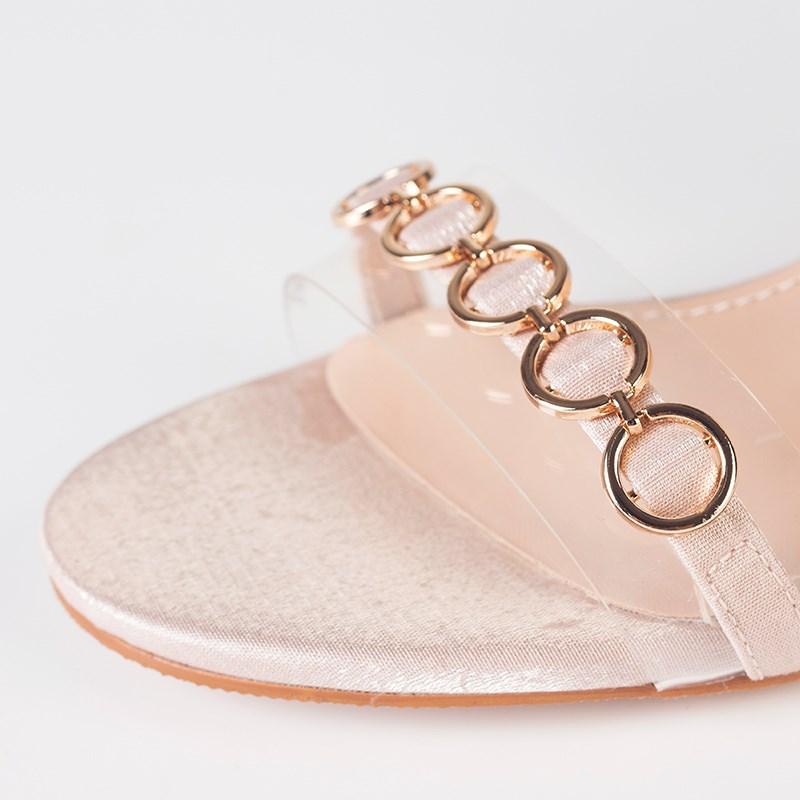 金苑夏季新款细跟高跟鞋女鞋S921015