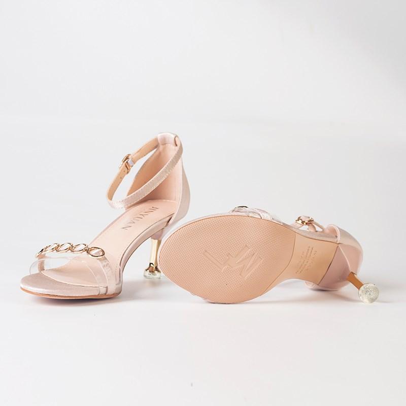金苑夏季新款细跟高跟鞋女鞋S921013