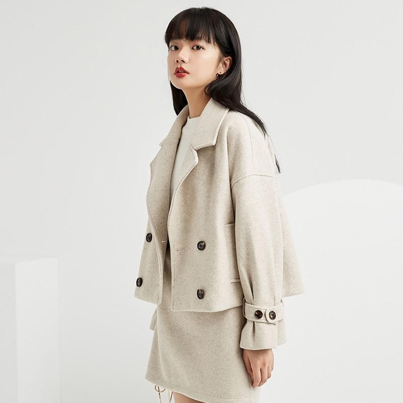 金苑小香风外套女2019新款洋气小个子减龄时尚短款休闲外套D959012