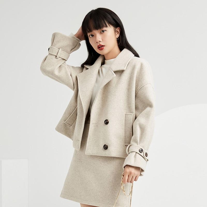 金苑小香风外套女2019新款洋气小个子减龄时尚短款休闲外套D959015