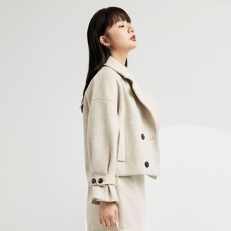 金苑小香风外套女2019新款洋气小个子减龄时尚短款休闲外套D959013