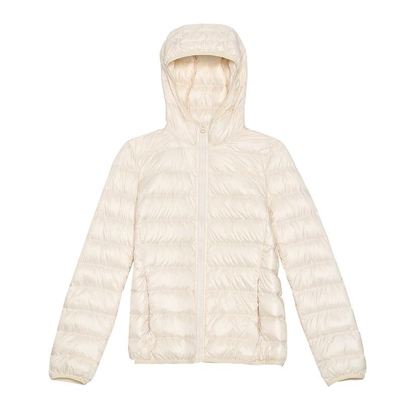 金苑羽绒服女2019冬季新款韩版轻薄连帽短款外套小个子棉服J951225