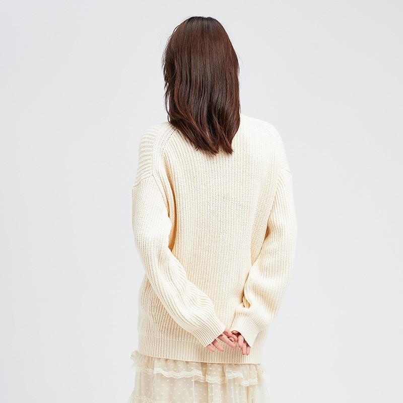 内搭高领毛衣女士2019冬季显瘦上衣套头毛衫长袖打底针织衫H951134