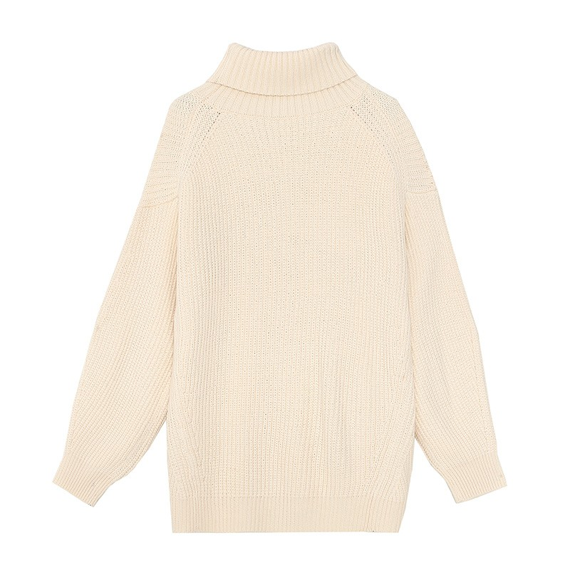 内搭高领毛衣女士2019冬季显瘦上衣套头毛衫长袖打底针织衫H951135