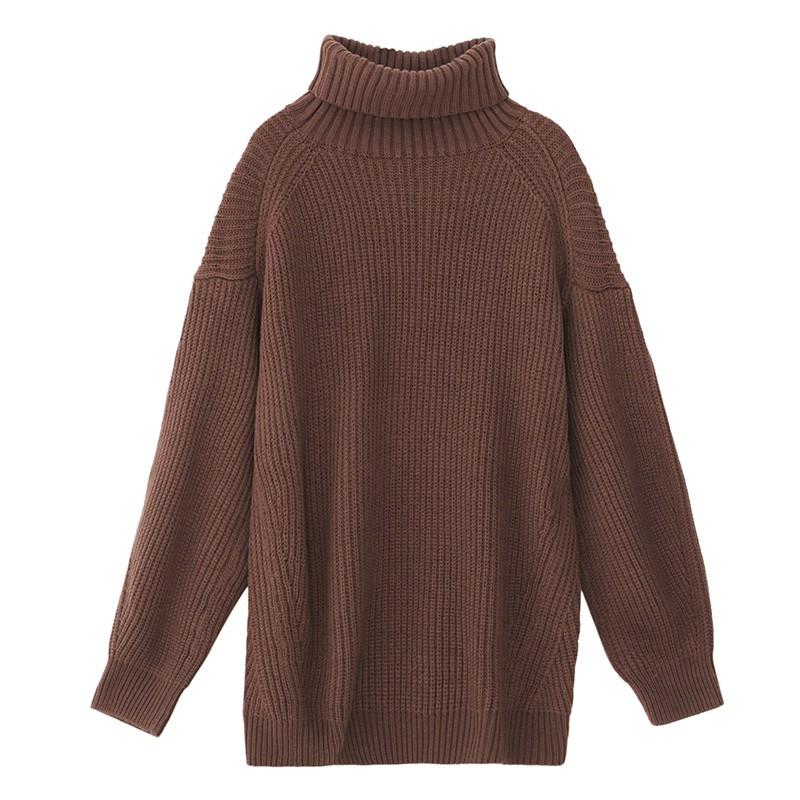 内搭高领毛衣女士2019冬季显瘦上衣套头毛衫长袖打底针织衫H9511311