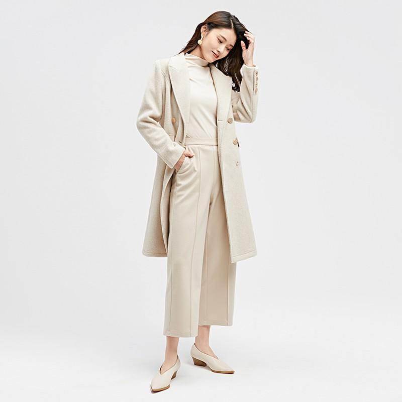 金苑2019冬装新款中长款风衣女装韩版减龄优雅女式风衣外套E951193