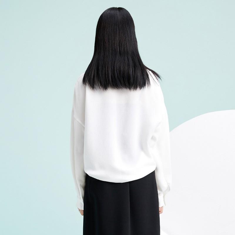 金苑韩版长袖衫2020春季新款设计感甜美学院风时尚衬衫女A2011055