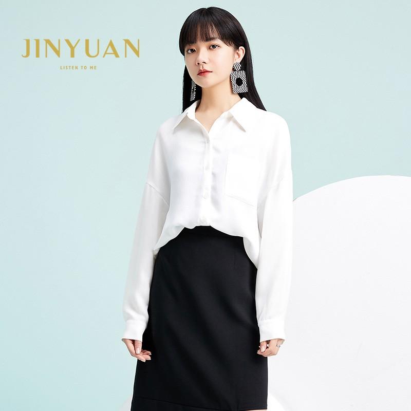 金苑韩版长袖衫2020春季新款设计感甜美学院风时尚衬衫女A2011051