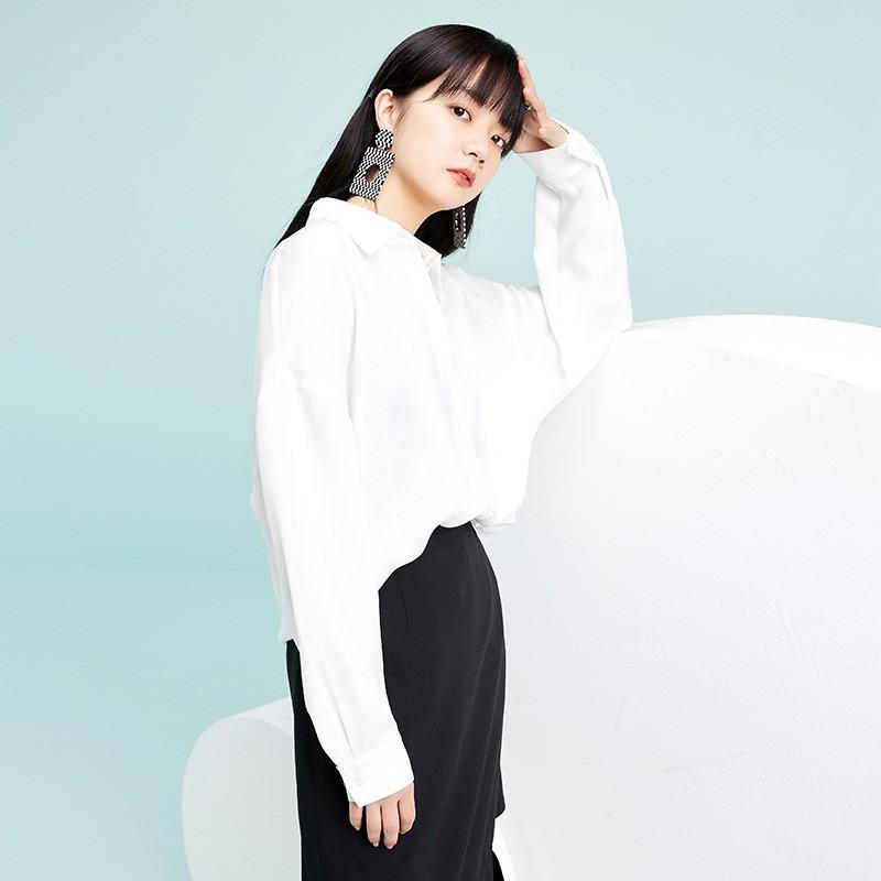 金苑韩版长袖衫2020春季新款设计感甜美学院风时尚衬衫女A2011054