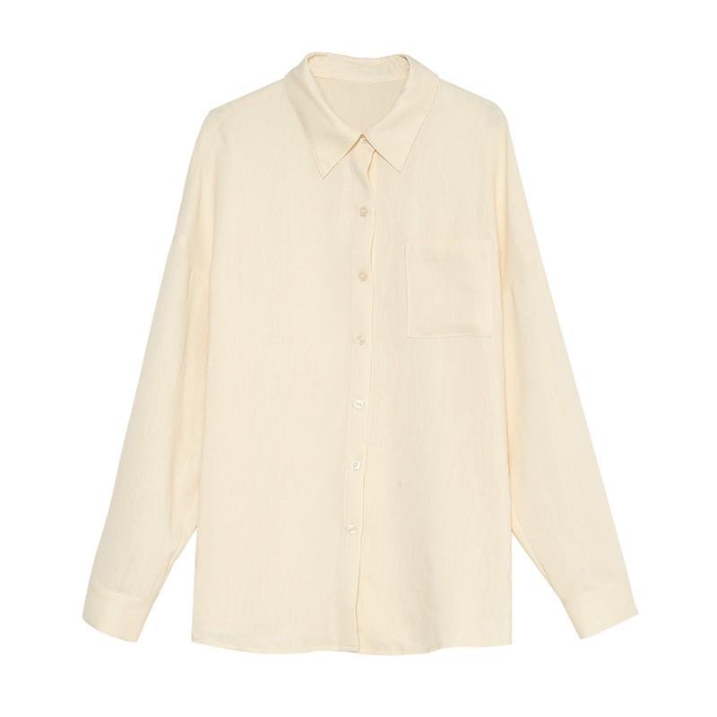 金苑韩版长袖衫2020春季新款设计感甜美学院风时尚衬衫女A20110512