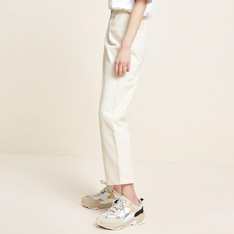 金苑百搭纯色休闲裤韩版宽松直筒裤2020年春季新款女装C2011053