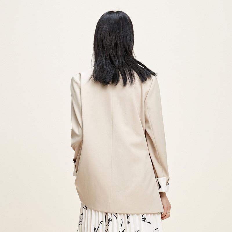 金苑西装外套女2020新款春装英伦风chic小西服女士小西装D2011014
