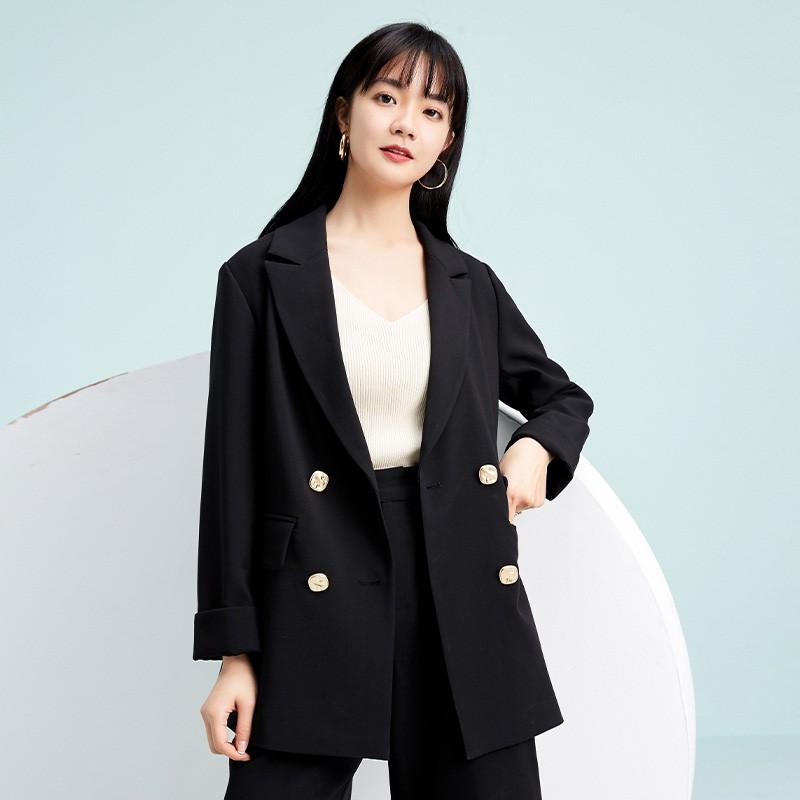 金苑西装外套女2020新款春装英伦风chic小西服女士小西装D2011018