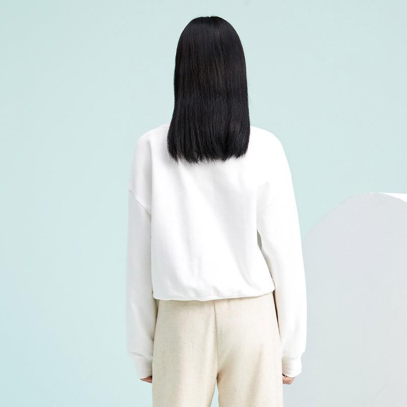 金苑卫衣2020新款女韩版潮宽松休闲慵懒风圆领女士上衣F2011014