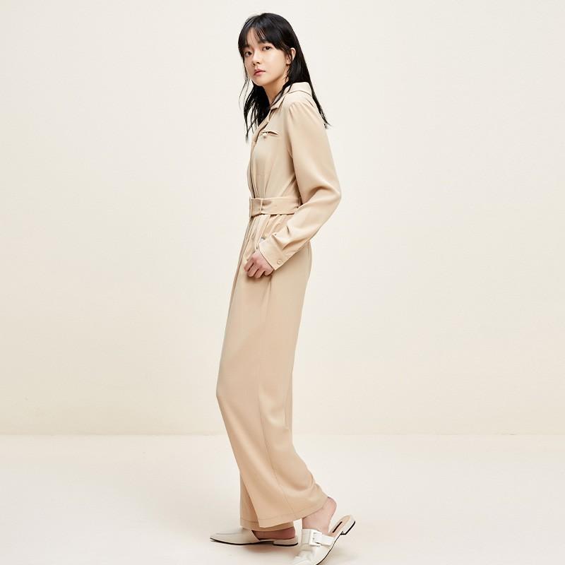 金苑连体裤女2020新款春装韩版高腰工装风时尚气质连身裤G2011013