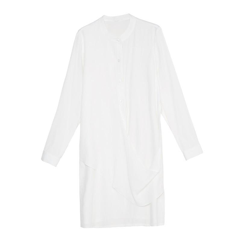 金苑2020春季新款设计师小心机百搭韩版时尚裙纯色连衣裙G2019015