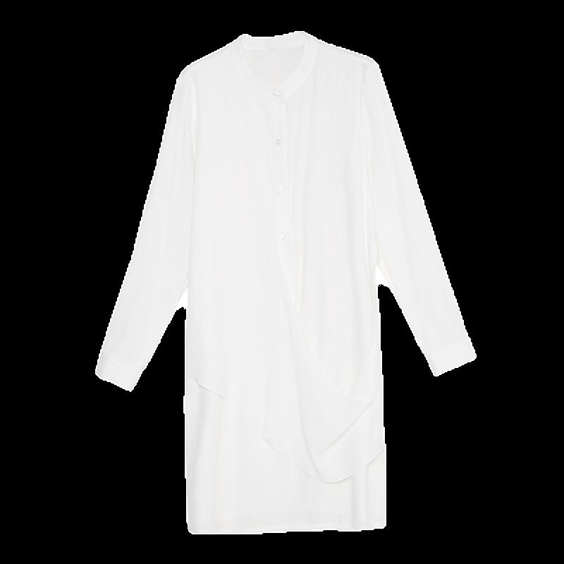 金苑2020春季新款设计师小心机百搭韩版时尚裙纯色连衣裙G2019017