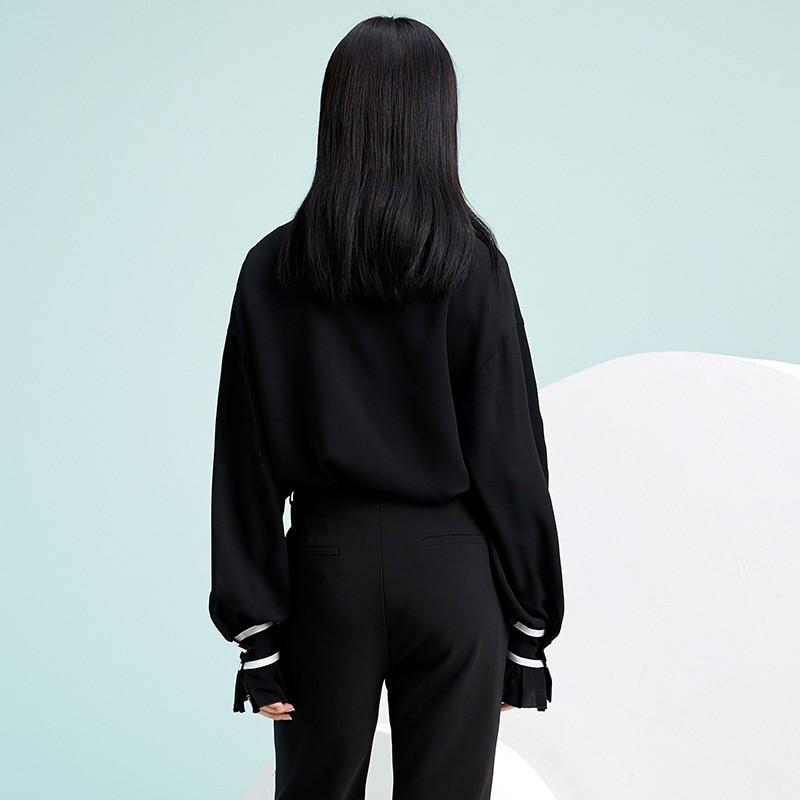 金苑雪纺衫2020新款小衫洋气时尚潮流女装气质雪纺女上衣A20190511
