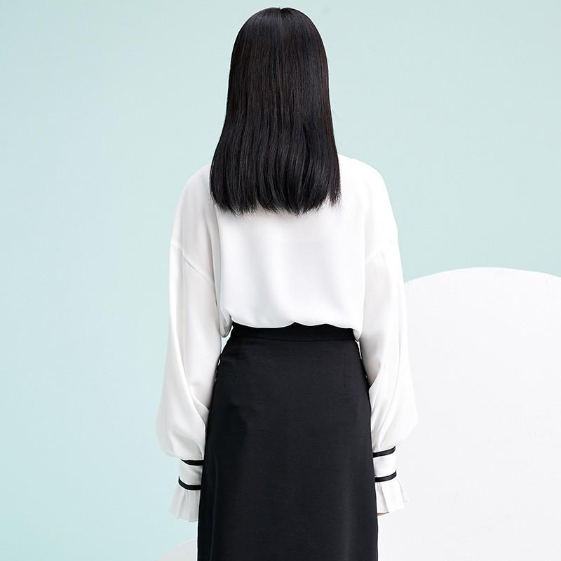 金苑雪纺衫2020新款小衫洋气时尚潮流女装气质雪纺女上衣A2019055