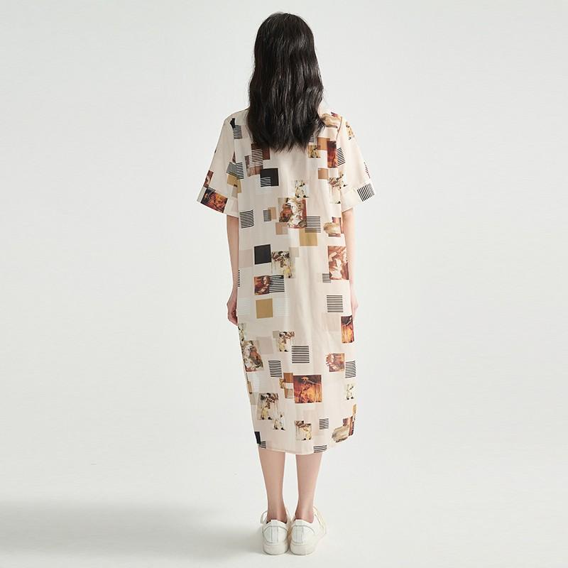 金苑正品女装衬衫复古港味女新款韩版宽松潮洋气上衣A2021073